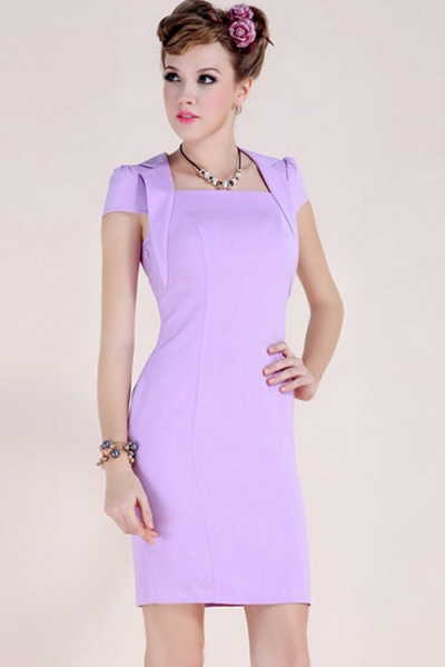 notched-collar-square-neck-body-con-dress