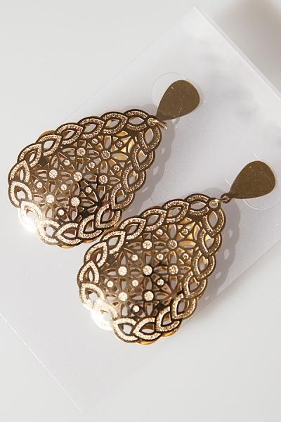 shiny-cutout-drop-earrings