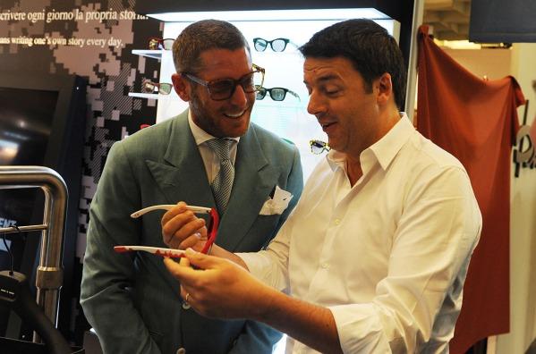 Lapo Elkann, Matteo Renzi