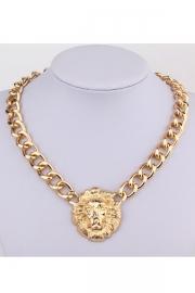 Lion-Head-Pendant-Toggle-Necklace