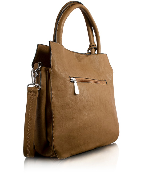 Shopping Bag Media Marrone_2