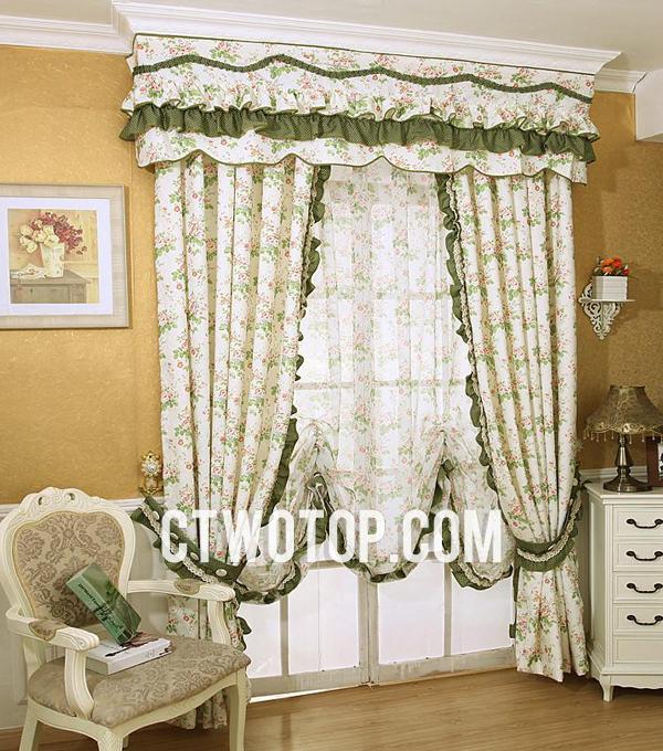 Articoli per la casa marcela yz for Country living room curtain ideas