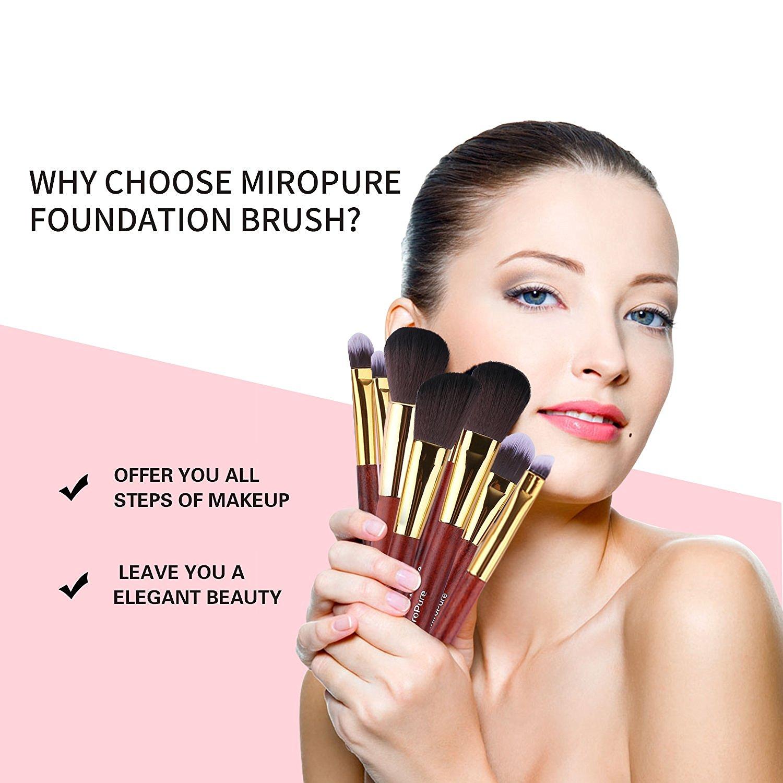 Come truccarsi: Set Professionale Pennelli Per Make-up