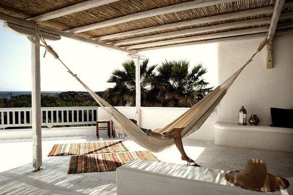 Amaca da esterno, relax in giardino | Marcela YZ